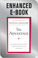 The Advantage by Patrick Lencioni: NOOK Book Enhanced Cover