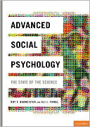 Advanced Social Psychology by Roy F. Baumeister: Book Cover
