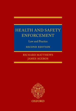 Health and Safety Enforcement Law and Practice cover