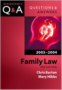 Family Law by Chris Barton: Book Cover