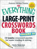 The Everything Large-Print Crosswords Book, Volume III by Charles Timmerman: Book Cover