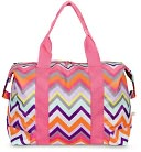 Chevron Travel Tote by All For Color: Product Image