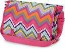 Chevron Messenger Bag by All For Color: Product Image