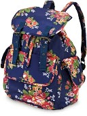 Cottage Rose Slouch Backpack by All For Color: Product Image