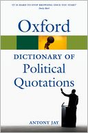 download Oxford Dictionary of Political Quotations book