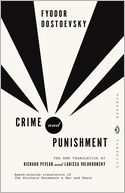 Crime and Punishment by Fyodor Dostoevsky: NOOK Book Cover