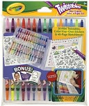 Crayola Twistables Mini Crayon Color 'N Paper Set by Crayola: Product Image