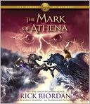 The Mark of Athena (The Heroes of Olympus Series #3) by Rick Riordan: Audio Book Cover