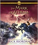 The Mark of Athena (The Heroes of Olympus Series #3) by Rick Riordan: CD Audiobook Cover