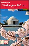 Frommer's Washington, D.C. 2013 by Elise H. Ford: Book Cover