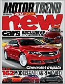 Motor Trend - One Year Subscription: Magazine Cover
