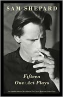 Fifteen One-Act Plays by Sam Shepard: NOOK Book Cover