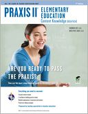 Praxis II Elementary Education by Anita Price Davis: NOOK Book Cover