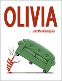 Olivia . . . and the Missing Toy by Ian Falconer: NOOK Kids Read to Me Cover