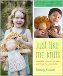 Just Like Me Knits by Brandy Fortune: Book Cover