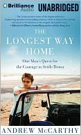 The Longest Way Home by Andrew McCarthy: CD Audiobook Cover