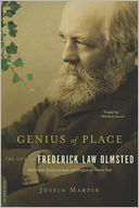 Genius of Place by Justin Martin: Book Cover