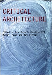 critical architecture by jane rendell  book cover