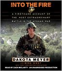 Into the Fire by Dakota Meyer: CD Audiobook Cover