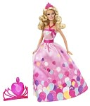 Barbie Birthday Princess Doll by Mattel: Product Image