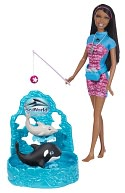 Barbie I Can Be Seaworld Trainer Doll &amp; Playset by Mattel: Product Image