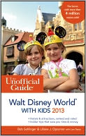 The Unofficial Guide to Walt Disney World with Kids 2013 by Bob Sehlinger: Book Cover