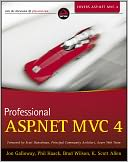 Professional ASP.NET MVC 4 by Jon Galloway: Book Cover