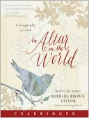 An Altar in the World by Barbara Brown Taylor: Audio Book Cover
