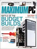 Maximum PC by Future US, Inc.: NOOK Magazine Cover