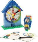 LEGO Time Teacher Boy Minifigure Link Watch & Constructible Clock by Clic Time LLC: Product Image