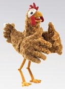 Chicken Puppet by Folkmanis: Product Image