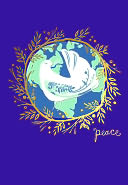 UNICEF PEACE DOVE CHRISTMAS BOXED CARD by Sunrise Greetings: Product Image