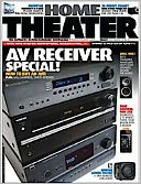 Home Theater - One Year Subscription: Magazine Cover