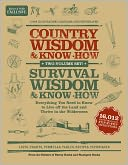Country Wisdom and Survival Wisdom Box Set (B&amp;N Exclusive Edition) by Storey Books: Book Cover