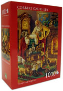 Corbet Gauthier Santa and Friends 1000 Piece Puzzle by Andrews Blaine: Product Image