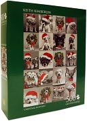 Keith Kimberlin Christmas Montage 500 Piece Puzzle by Andrews Blaine: Product Image