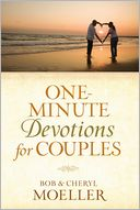 One-Minute Devotions for Couples by Bob Moeller: Book Cover