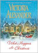 What Happens At Christmas by Victoria Alexander: NOOK Book Cover