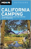 Moon California Camping by Tom Stienstra: Book Cover