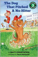 The Dog That Pitched a No-Hitter by Matt Christopher: Book Cover