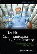 Health Communication in the 21st Century by Kevin Wright: Book Cover