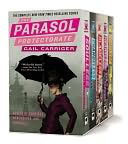 The Parasol Protectorate Boxed Set by Gail Carriger: Book Cover