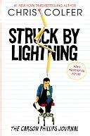 Struck By Lightning by Chris Colfer: Book Cover