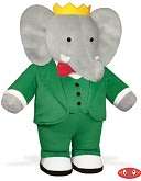 Babar 13 inch Plush Doll by Yottoy: Product Image