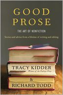Good Prose by Tracy Kidder: Book Cover