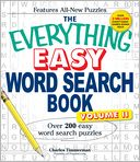The Everything Easy Word Search Book, Volume II by Charles Timmerman: Book Cover