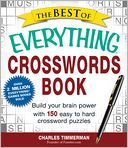 The Best of Everything Crosswords Book by Charles Timmerman: Book Cover