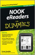 NOOK eReaders For Dummies by Corey Sandler: Book Cover