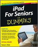 iPad For Seniors For Dummies by Nancy C. Muir: Book Cover