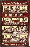 Poor Richard's Almanack by Benjamin Franklin: Book Cover